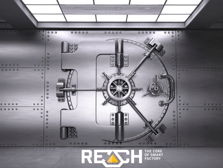 reach i4 data security ldap kerberos tls iot industry digital twin